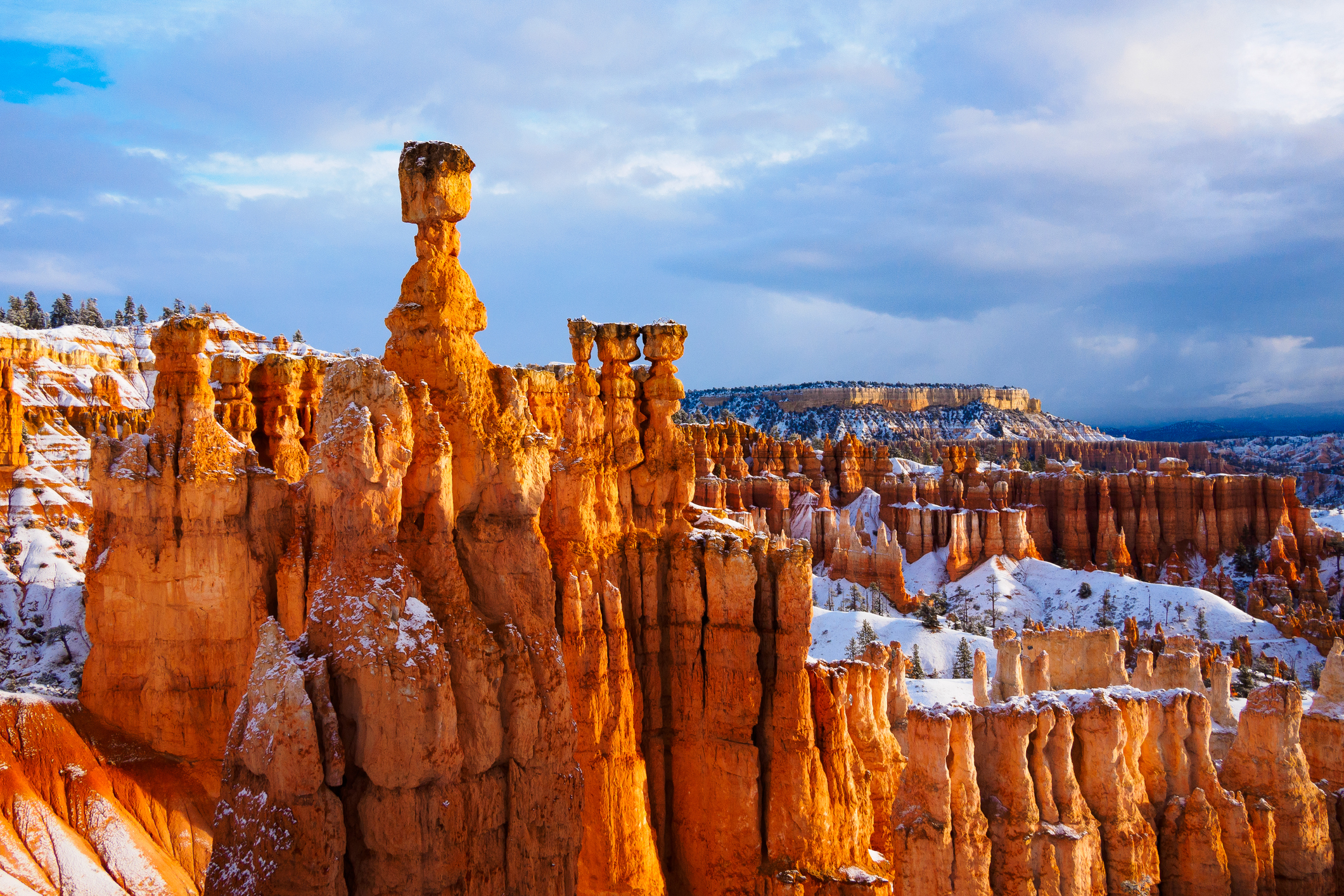 Participate in tons of outdoor activities during the Bryce Canyon Winter Festival.